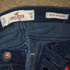 Hollister Jeans - Hollister Low rise Jean Jeggings